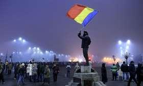 Rumunia Przeciwnicy rządu ponownie wyszli na ulice