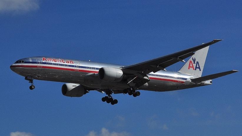 Samolot American Airlines wleciał w burzę z gradem [FOTO]