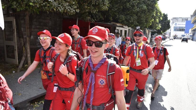 Polscy harcerze uratowali życie uczestniczce ŚDM w Panamie [WIDEO]
