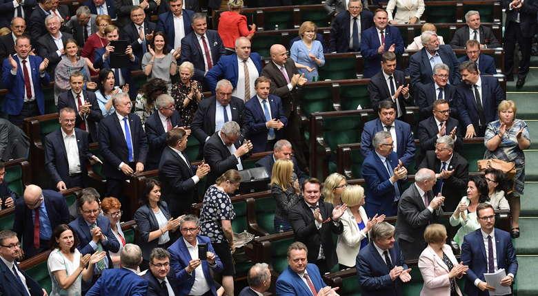 Sejm przyjał nową ustawę o SN. Większość opozycji zbojkotowała głosowanie