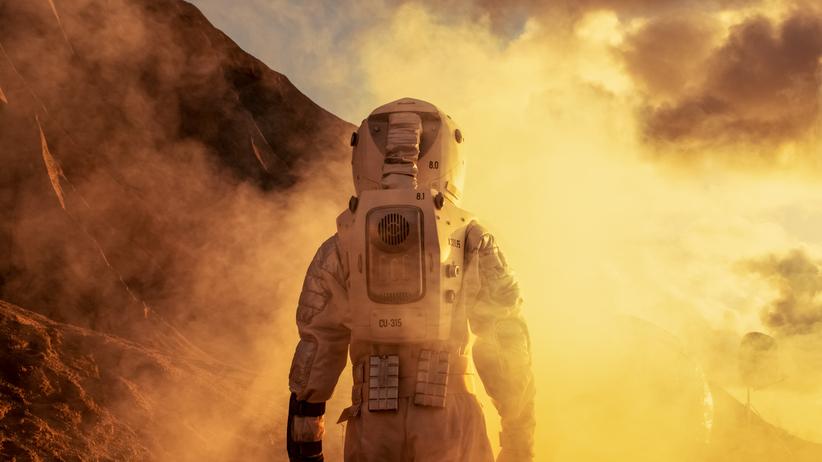 Życie na Marsie? Sensacyjne odkrycie naukowców