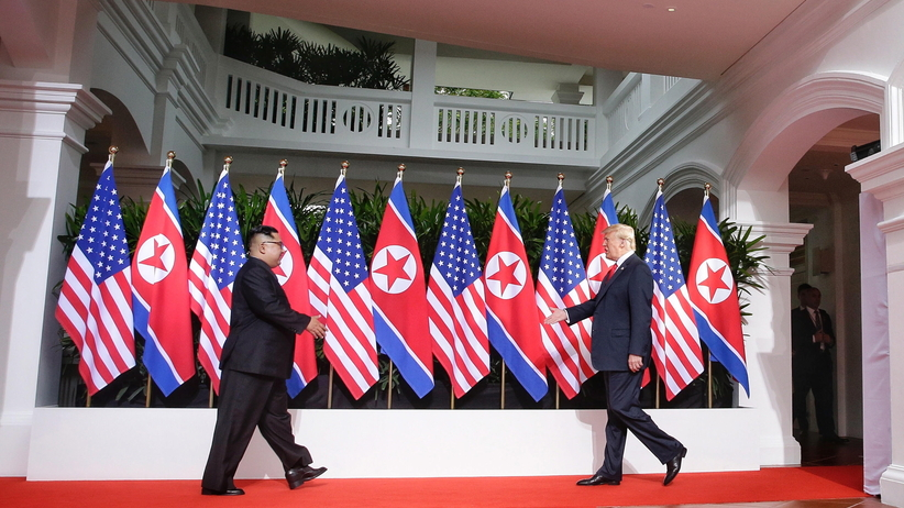 Kim Dzong Un Donald Trump