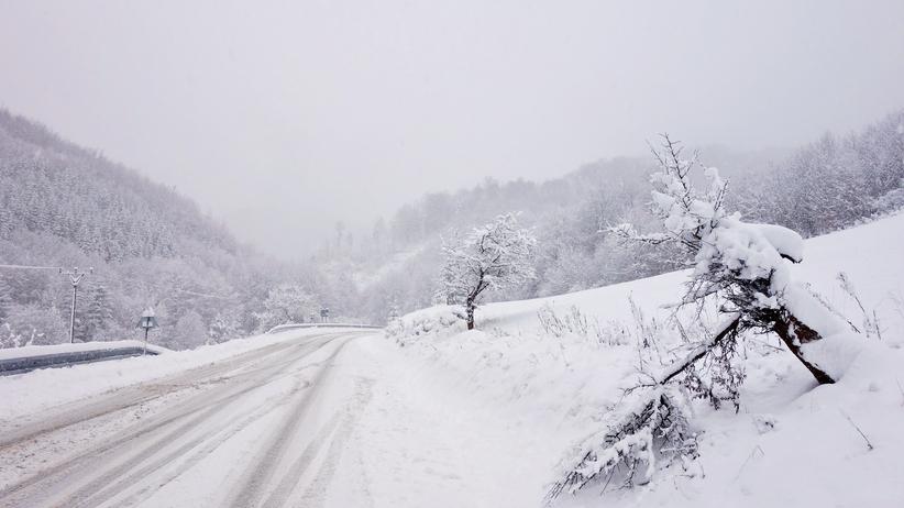 Śnieg paraliżuje Słowację. Ogłoszono stan katastrofy żywiołowej