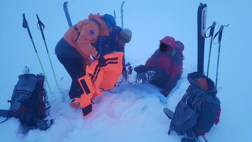 Polak spadł ze szlaku w Tatrach. Na pomoc ruszyli Słowacy [GALERIA]