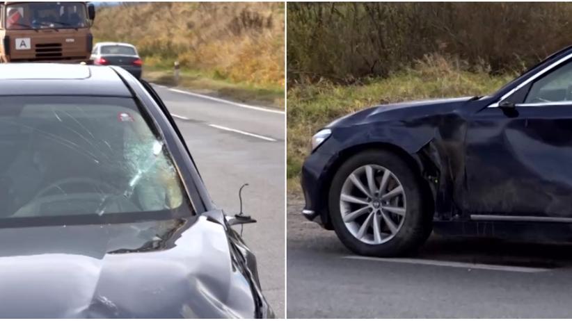 Słowacja. Samochód premiera zderzył się z jeleniem