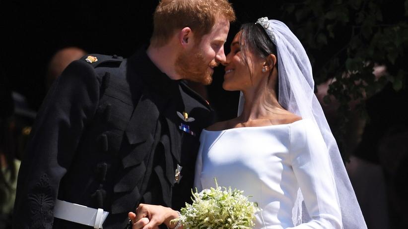 Co powiedział Harry, gdy zobaczył Meghan w kościele? Można się wzruszyć!