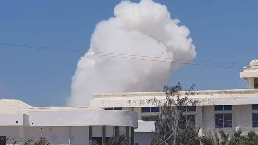 Wielkie wybuchy w Mogadiszu. Zamach w ministerstwie