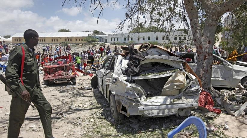 Somalia. Zamach w Mogadiszu. 3 zabitych