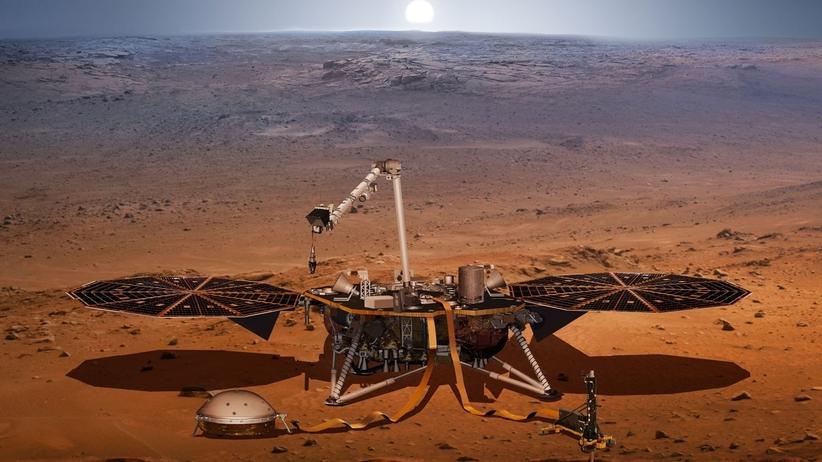 Sonda InSight wylądowała na Marsie. Kiedy lądowanie. Co to jest