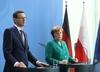 Morawiecki rozmawiał z Merkel w cztery oczy. Poruszone tematy: Nord Stream i Holokaust