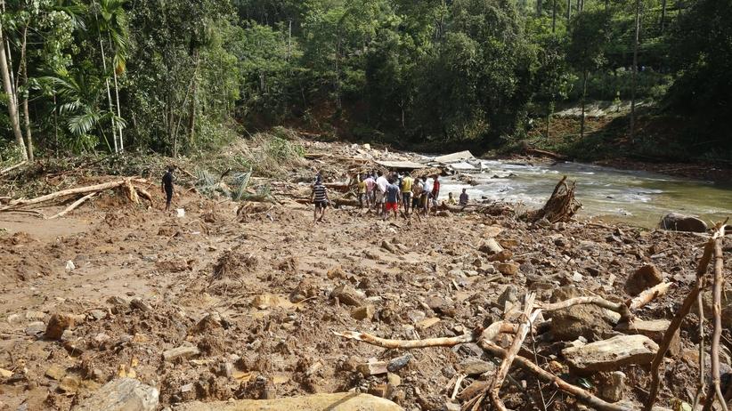 Dramat na Sri Lance. Setki ofiar powodzi i osuwisk