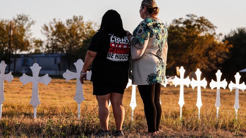 Strzelanina w Teksasie: znamy ostatnie słowa napastnika