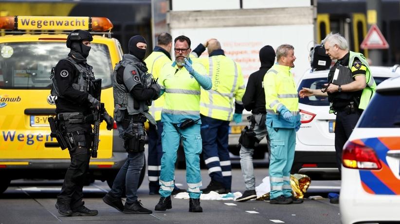 Strzelanina w Utrechcie. Napastnik otworzył ogień do pasażerów tramwaju. Co najmniej jedna ofiara [AKTUALIZACJA]