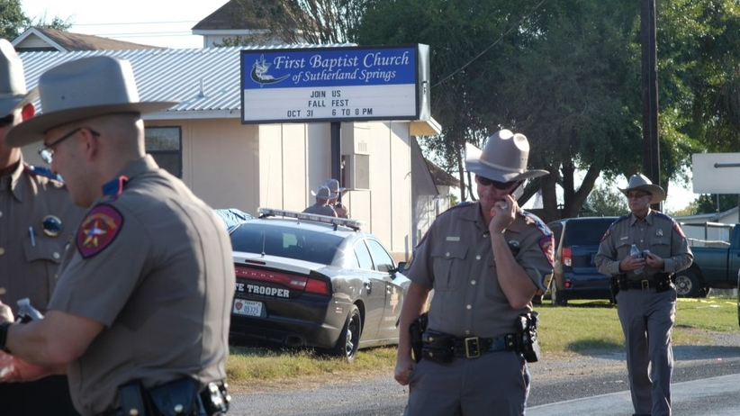 Świadek strzelaniny w Teksasie: Mój sąsiad wziął na siebie strzały
