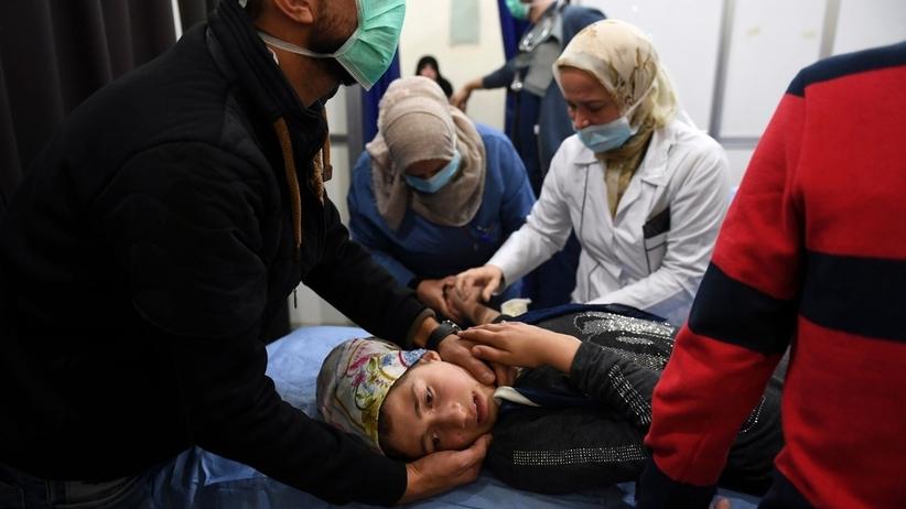 Atak chemiczny w Aleppo. Ponad 100 osób poszkodowanych