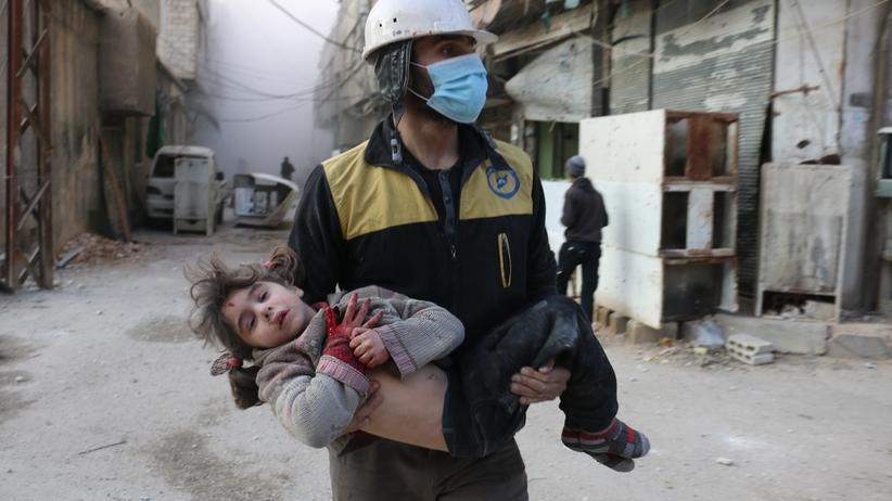Dramat ludności cywilnej w Syrii