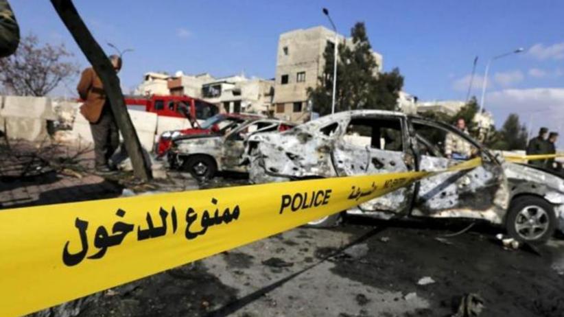 Zamach w Damaszku. Eksplodował samochód pułapka