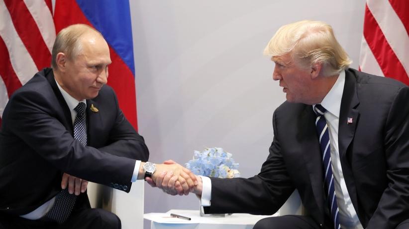 Trump zdradza szczegóły ze spotkania z Putinem