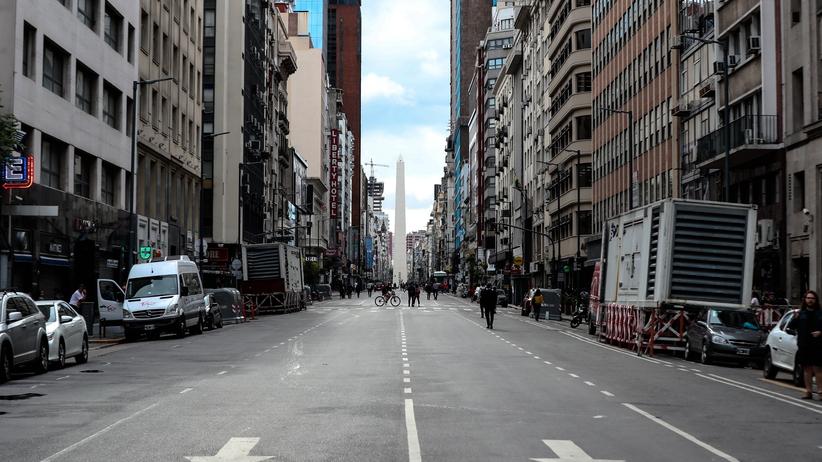 Trzęsienie ziemi w Buenos Aires. Szef Biura Białego Domu: widziałem kołyszące się żyrandole