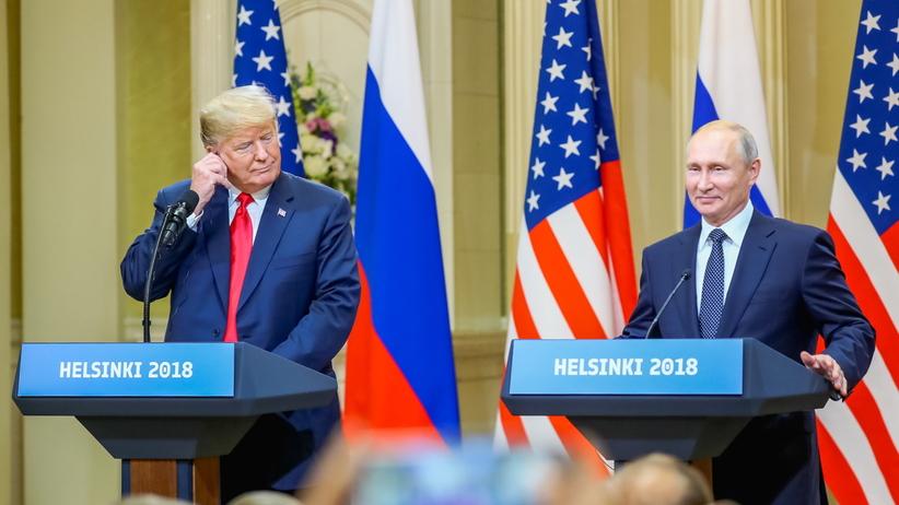 Szczyt Trump-Putin. Prezydenci USA i Rosji o ingerencji w kampanię z 2016 roku