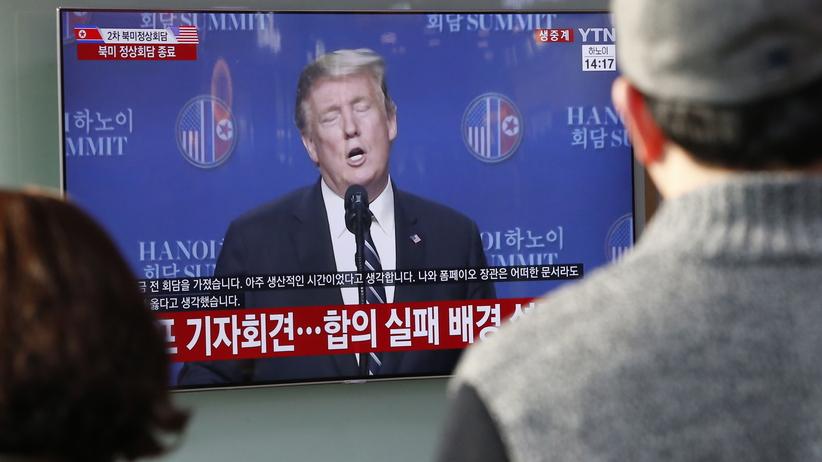 Rozmowy w Hanoi zerwane. Trump:  Korea Północna chciała zniesienia wszystkich sankcji