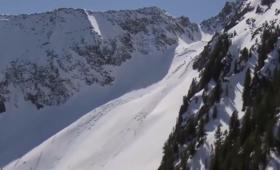 Lawina w Alpach. Śnieg porwał cztery osoby. Jedna nie żyje