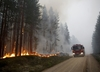 Szwecja. Polscy strażacy pomogą gasić pożary lasów