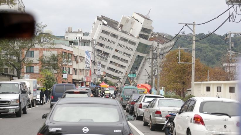 Tajwan: silne trzęsienie ziemi. Setki domów bez prądu