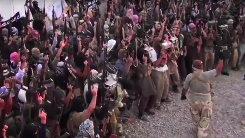 Terroryści świętują. Lider Państwa Islamskiego zbiegł do Syrii
