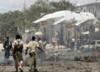 Terroryści wjechali do hotelu i wysadzili samochód pułapkę. 9 osób nie żyje
