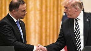 Trump i Duda podpisali deklarację o partnerstwie strategicznym