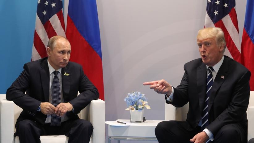 Trump do Putina: to zaszczyt, że mogę tu z panem być