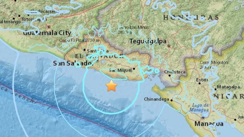 Trzęsienie Ziemi w Salwadorze