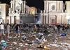 Ponad 1400 osób rannych w wyniku wybuchu paniki w Turynie