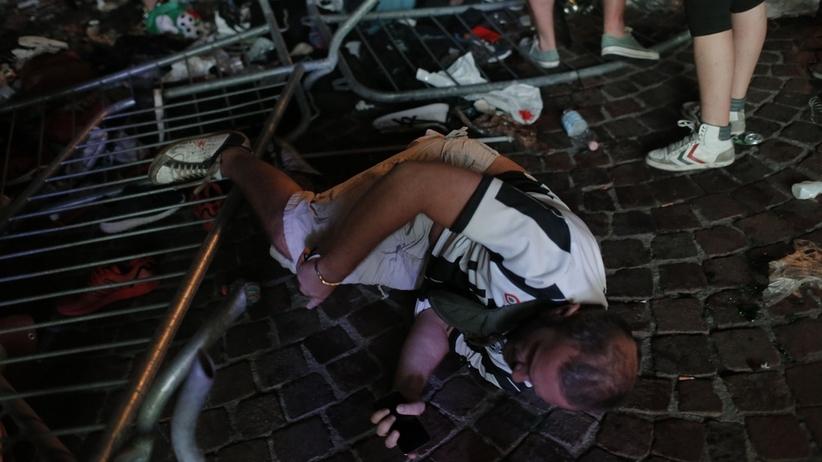 Turyn: 600 kibiców rannych po tym, jak zaczęli siętratować, gdy usłyszeli wybuch