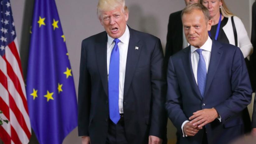 Tusk po spotkaniu z Trumpem: Zgoda w sprawie walki z terroryzmem i Ukrainy