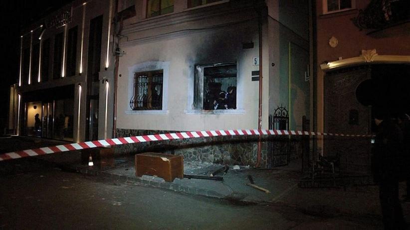 Polacy oskarżeni o terroryzm. W lutym 2018 roku podpalili węgierską placówkę na Ukrainie