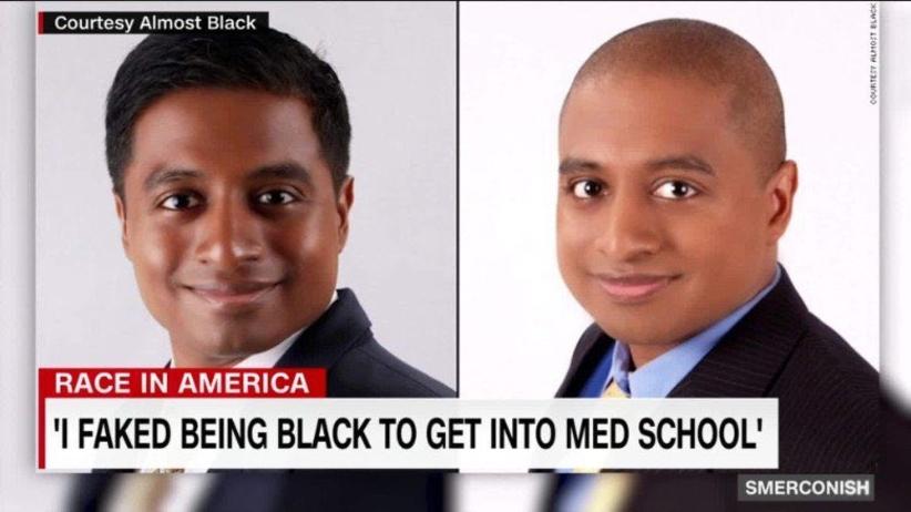 Udawał czarnoskórego, aby dostać się na studia medyczne