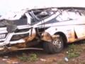 Kolizja autobusu z traktorem i ciężarówką. Dziesiątki ofiar
