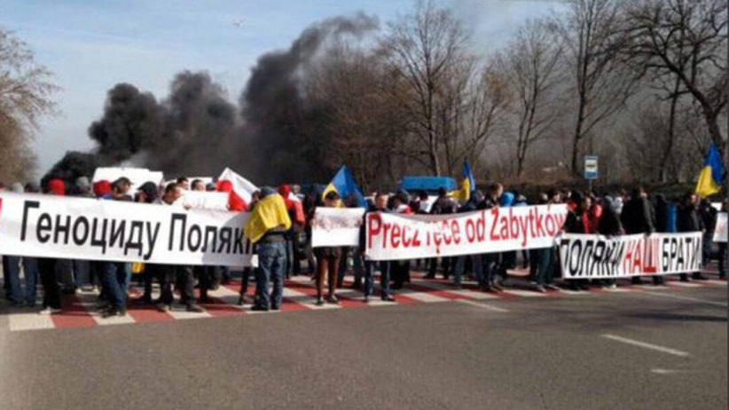 Ukraina: zatrzymano organizatorów blokady rzekomo broniącej praw Polaków