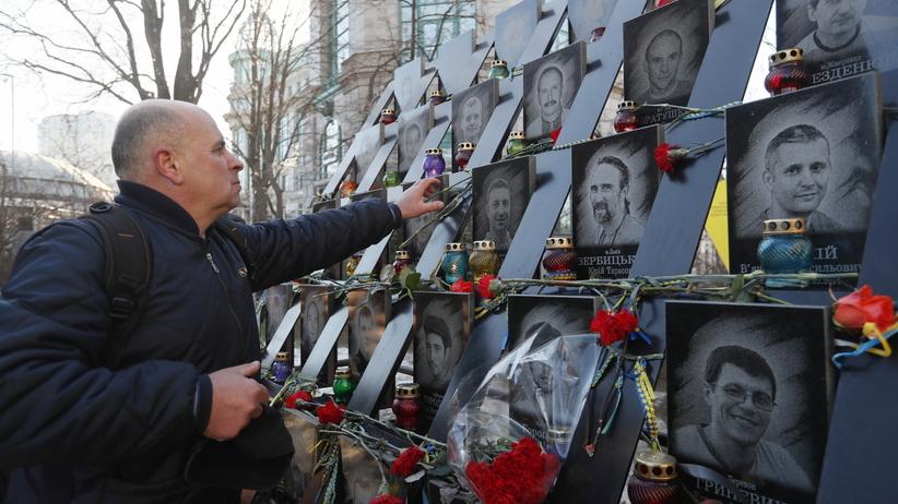 Ukraina. Donald Tusk na 5. rocznicy obchodów pacyfikacji Euromajdanu