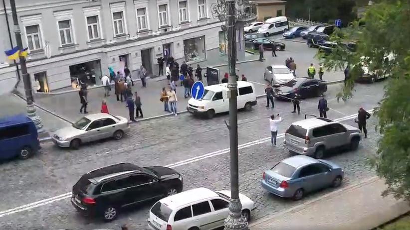 Ukraina. Eksplozja w centrum Kijowa. Są ranni