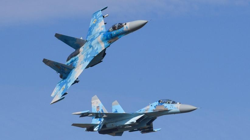 Ukraina. Nie żyje dwóch pilotów w katastrofie myśliwca Su-27