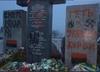 """Swastyka na pomniku zamordowanych Polaków na Ukrainie. """"Śmierć Lachom"""""""