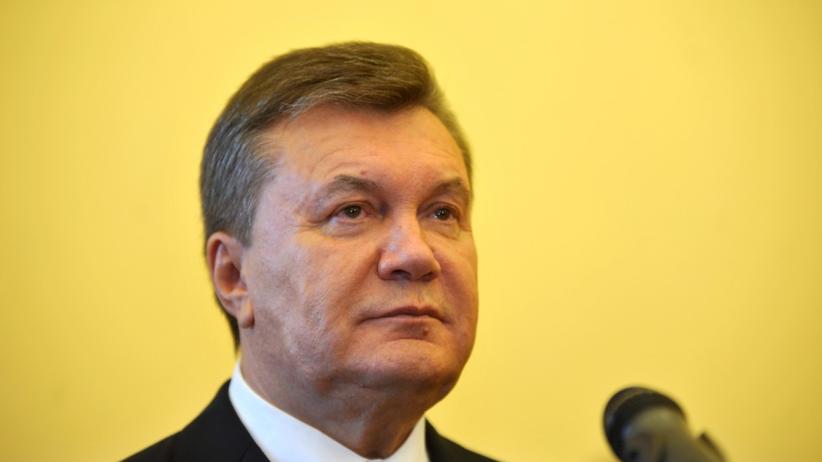 Wiktor Janukowycz skazany