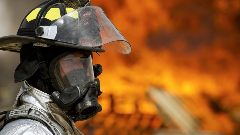 pożar domu opieki