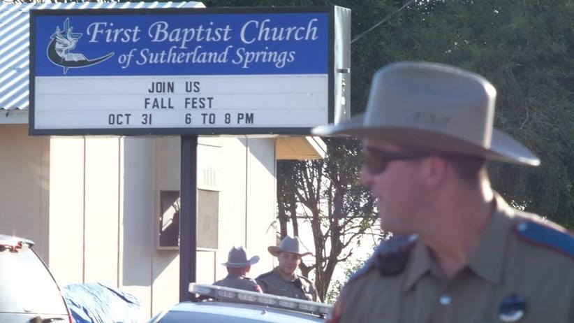 Co najmniej 26 osób zginęło w strzelaninie w kościele w Teksasie