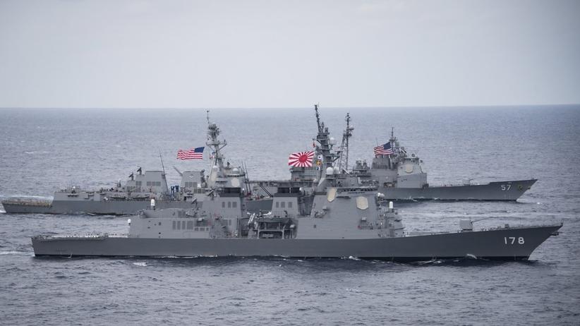 Trwają manewry USA i Korei Południowej na Morzu Japońskim