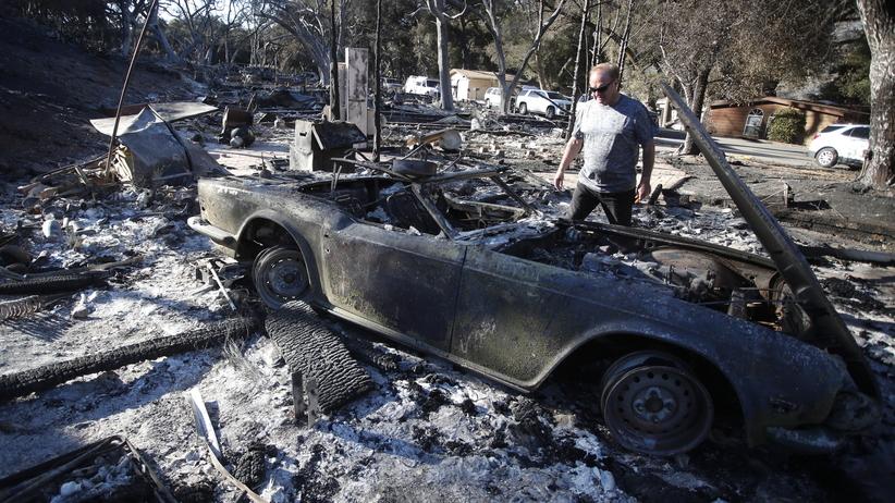 Tragiczne pożary w Kalifornii: dziesiątki ofiar, ponad setka poszukiwanych