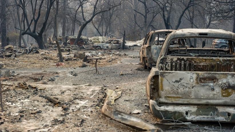 Pożary w Kalifornii opanowane. Poszukiwanych wciąż blisko 250 osób